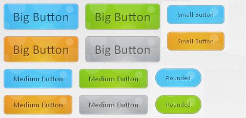 12组免费的CSS3按钮强力推荐图片